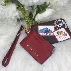 Michael Kors aspen card case wallet